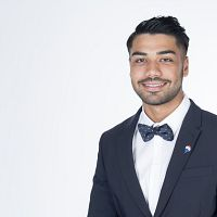 Property agent Matin Rahimi