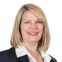 Property agent Cornelia Rusch