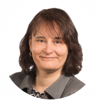 Property agent Marie-Louise Rüetschi