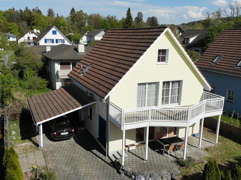Einfamilienhaus mit 6½ Zimmer und Ausbaureserven